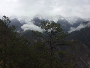 Photo taken from the Naxi guest house, Lijiang, Yunnan.